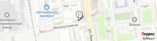 Сахалинская областная нотариальная палата на карте Южно-Сахалинска