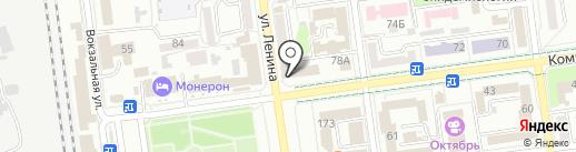 Сахалинское транспортное агентство на карте Южно-Сахалинска