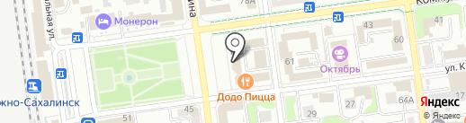 Управление кадровой политики на карте Южно-Сахалинска