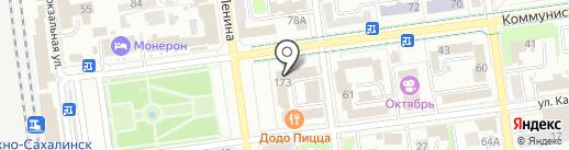 Управление жилищной политики Администрации г. Южно-Сахалинска на карте Южно-Сахалинска