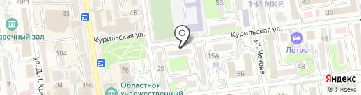Сахалинская региональная общественная правозащитная организация совет солдатских матерей на карте Южно-Сахалинска