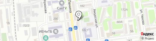 Сахалинская лаборатория судебной экспертизы Министерства Юстиции РФ на карте Южно-Сахалинска