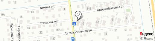 Olcard.ru на карте Южно-Сахалинска