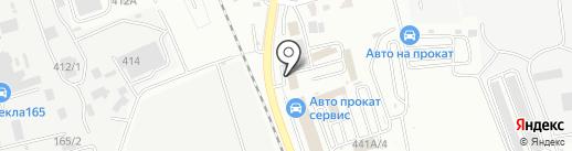 Bro-Шина на карте Южно-Сахалинска