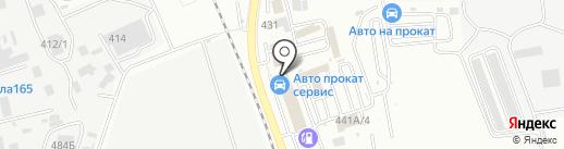 Городское ЭКО Такси на карте Южно-Сахалинска
