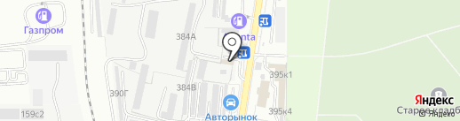 Автоэстетика на карте Южно-Сахалинска