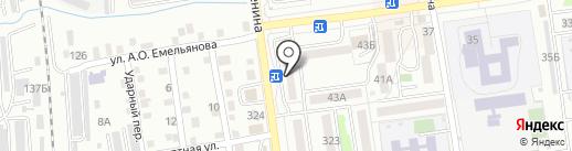 СПСР-ЭКСПРЕСС на карте Южно-Сахалинска
