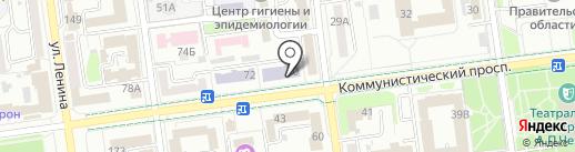 Сахалин-клининг-сервис на карте Южно-Сахалинска