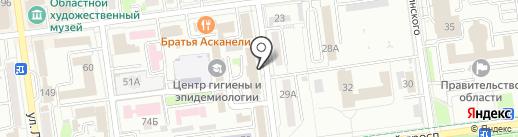 Прокуратура Сахалинской области на карте Южно-Сахалинска