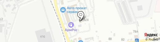 ТехИнвест на карте Южно-Сахалинска