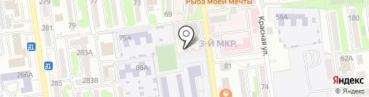 ДЖЭС Форвардинг Ворлдвайд на карте Южно-Сахалинска