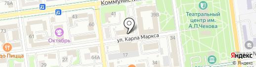 Кейсистемс-Сахалин на карте Южно-Сахалинска