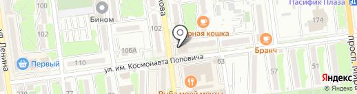 The LOFT на карте Южно-Сахалинска