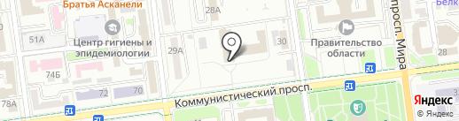 Управление финансового обеспечения Министерства обороны РФ по Сахалинской области на карте Южно-Сахалинска
