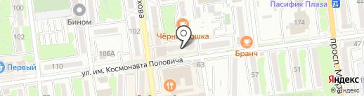 Стома Плюс на карте Южно-Сахалинска