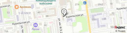 Управление Министерства юстиции РФ по Сахалинской области на карте Южно-Сахалинска