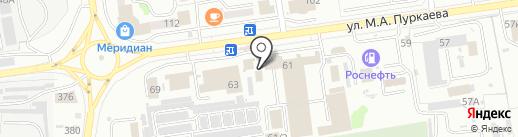 ПРАЙД Сахалин на карте Южно-Сахалинска