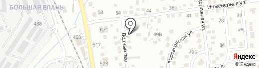 Сервис Клининг+ на карте Южно-Сахалинска
