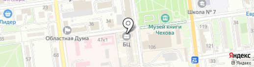 Тьюбоскоп Ветко Москоу на карте Южно-Сахалинска