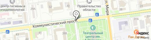 Ангар на карте Южно-Сахалинска