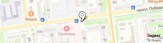 Золотой Слон на карте Южно-Сахалинска