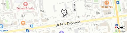 Автоклав на карте Южно-Сахалинска