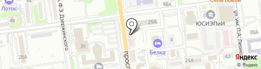 SakhJoy на карте Южно-Сахалинска
