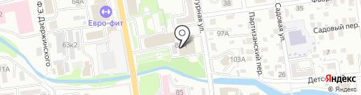 ШарМ на карте Южно-Сахалинска
