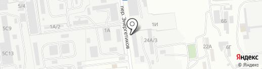 Электроприбор на карте Южно-Сахалинска