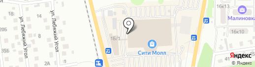Орматек на карте Южно-Сахалинска