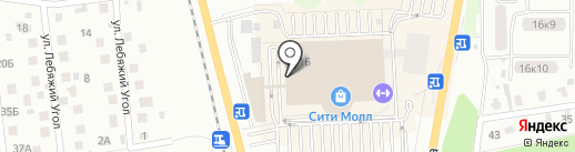 Банкомат, Альфа-банк на карте Южно-Сахалинска