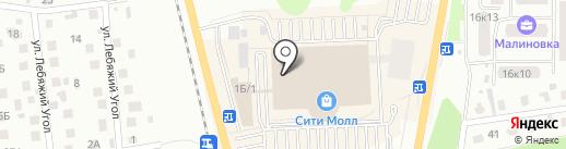 ТОГАС на карте Южно-Сахалинска