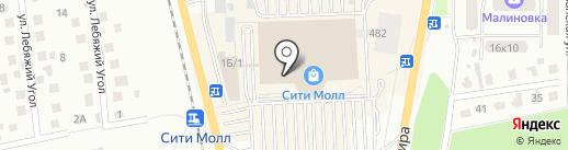 Папин и Мамин на карте Южно-Сахалинска