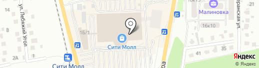 Studio на карте Южно-Сахалинска