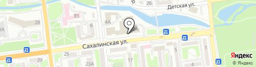 SHAR BALLOONS BAR на карте Южно-Сахалинска