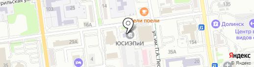Инфотех ИТ на карте Южно-Сахалинска