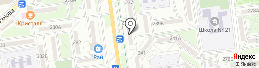 МАЦУТАКЭ на карте Южно-Сахалинска