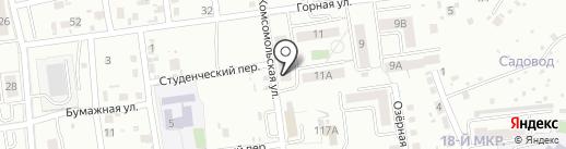 Быстроном на карте Южно-Сахалинска