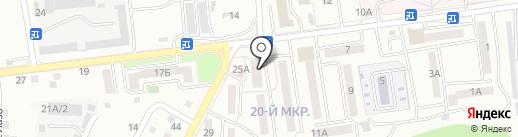 Магазин канцтоваров на карте Южно-Сахалинска