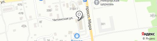 Банкомат, Банк ВТБ 24, ПАО на карте Южно-Сахалинска