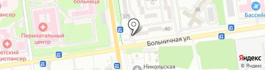 ШоКоLад на карте Южно-Сахалинска