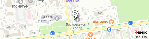 Воскресенский Кафедральный Собор на карте Южно-Сахалинска