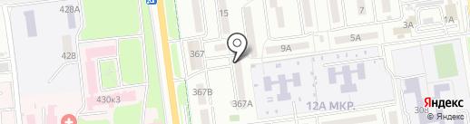 СахАренда на карте Южно-Сахалинска