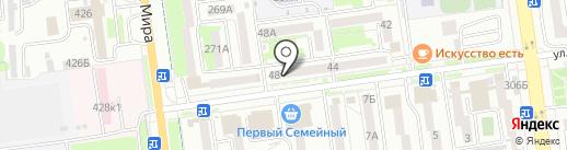 Восточный банк, ПАО на карте Южно-Сахалинска
