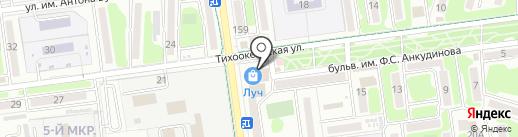 Магазин молодежной одежды на карте Южно-Сахалинска