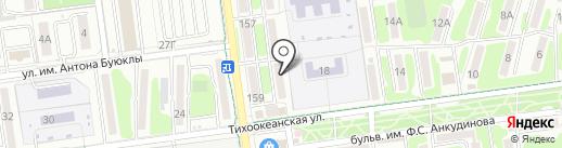 МегаФон на карте Южно-Сахалинска