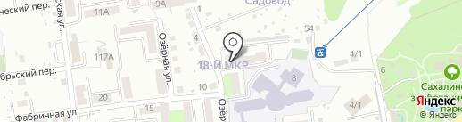 Наш дом, ТСЖ на карте Южно-Сахалинска