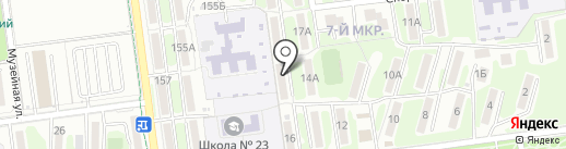 Косметик ДВ Сахалин на карте Южно-Сахалинска