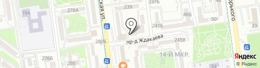 Аудионика на карте Южно-Сахалинска