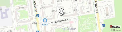 Селект АйТи на карте Южно-Сахалинска